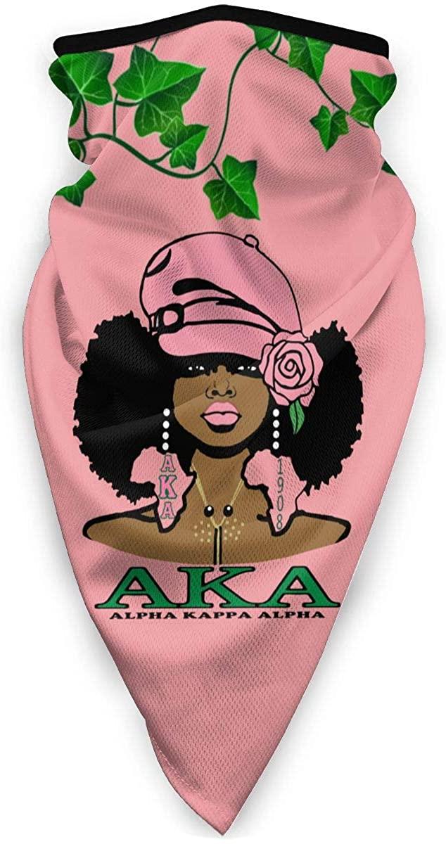 Alpha Kappa Alpha Outdoor Face Mouth Mask Windproof Sports Mask Ski Mask Shield Scarf Bandana Men Woman