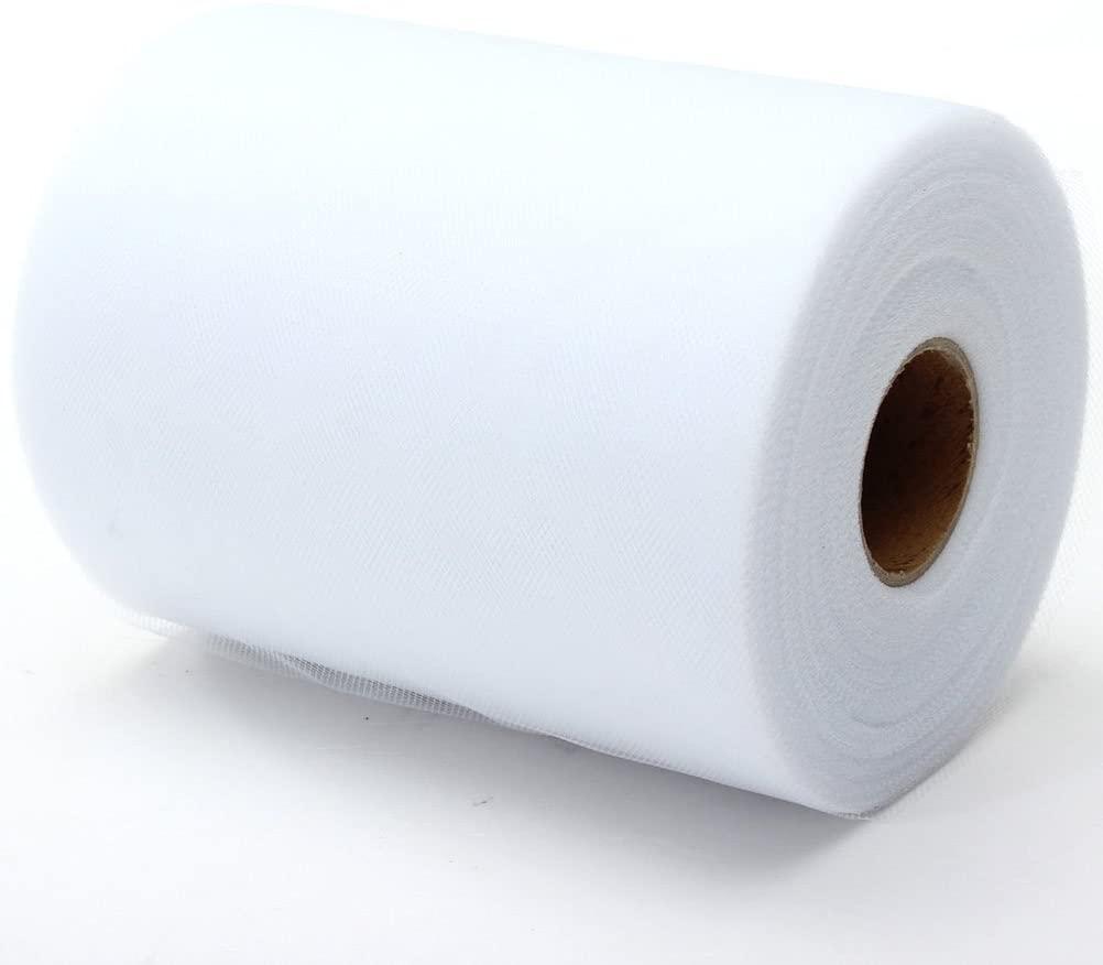 ROSENICE Tulle Roll Spool DIY Netting Fabric for Wedding Craft Favor Decor 6