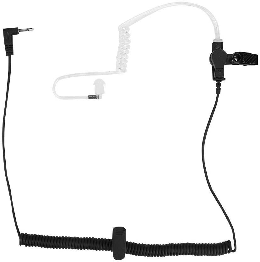 Bewinner Air Tube Earphone, 3.5mm M Head PTT Ear Hook Tube Headphone Walkie Talkie Earphone Radio Two Way, Suitable for Policemen, Guards, Ceremonies, Restaurants, Hotels