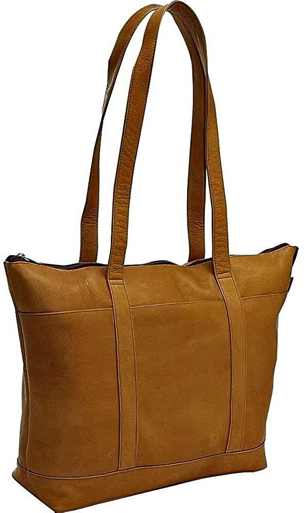 Le Donne Leather Medium Classic Pocket Tote Bag