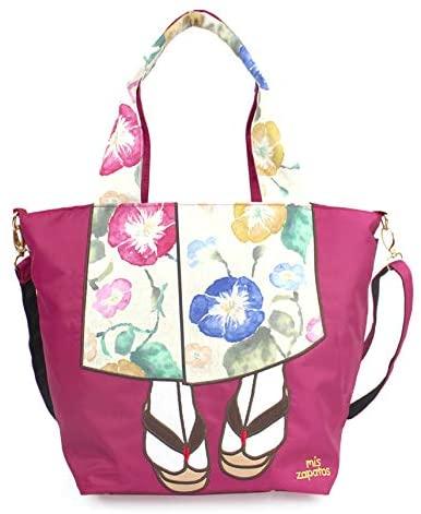 Women Kimono Tote Shoulder Bag - Large Japanese Fashion Shoulder Bags
