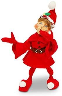Annalee - 12in Winter Berry Red Elf