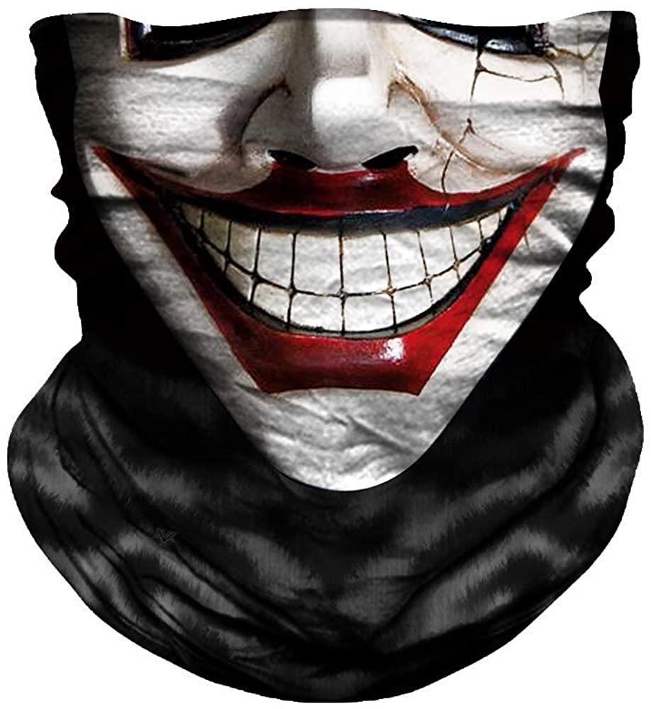 WTACTFUL UPF 50+, Elastic Seamless Bandana Headband Moisture Wicking Neck Gaiter Face Mask for Outdoor Sports