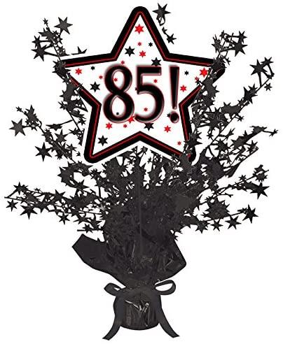 85! Black Star Centerpiece