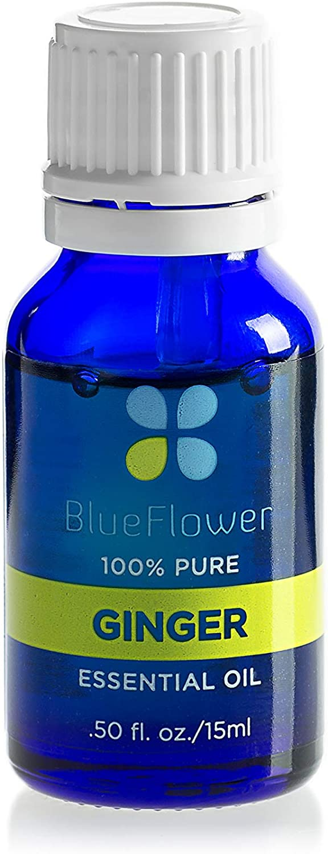 BlueFlower Essential Oil, Ginger, 15 ml Dropper