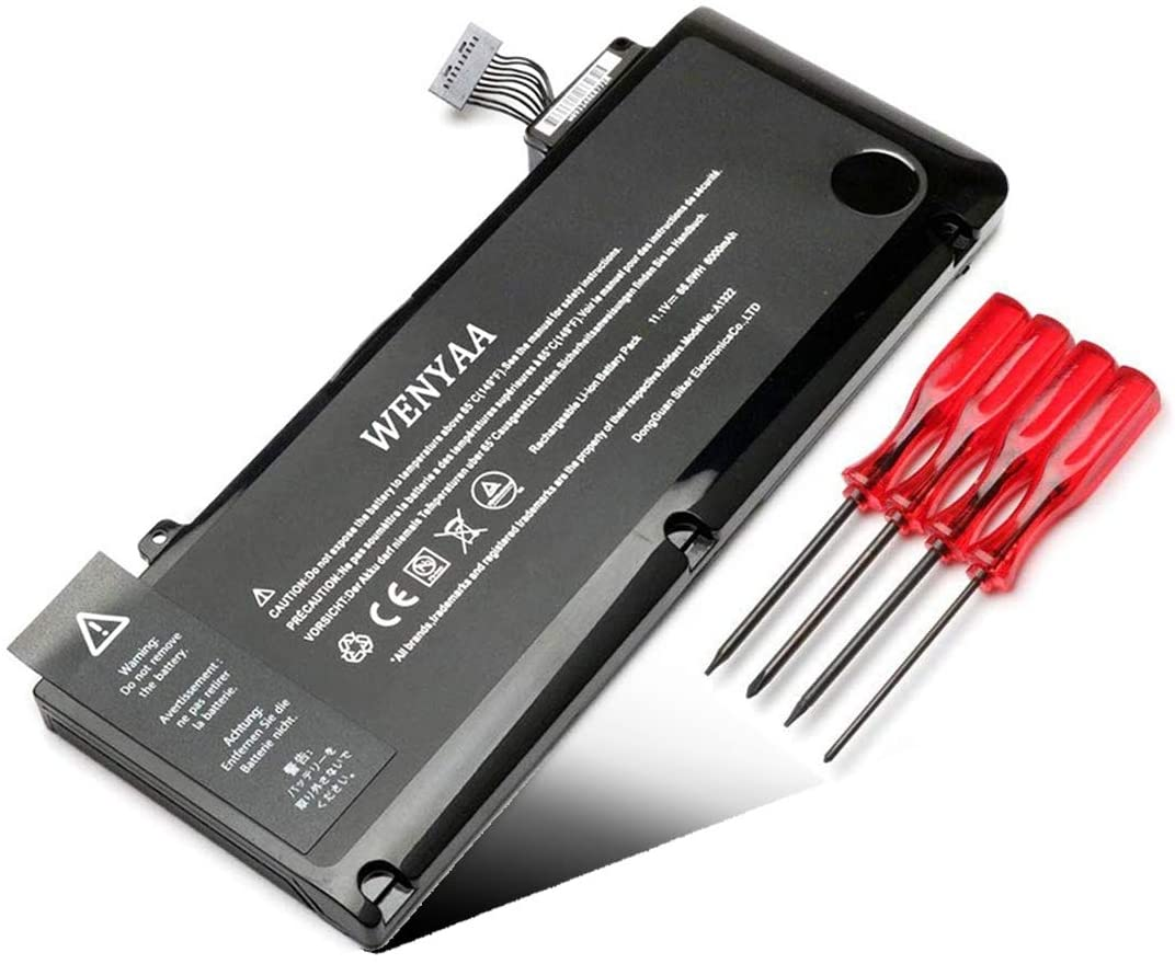 WENYAA A1322 Laptop Battery Replacment for MacBook Pro 13