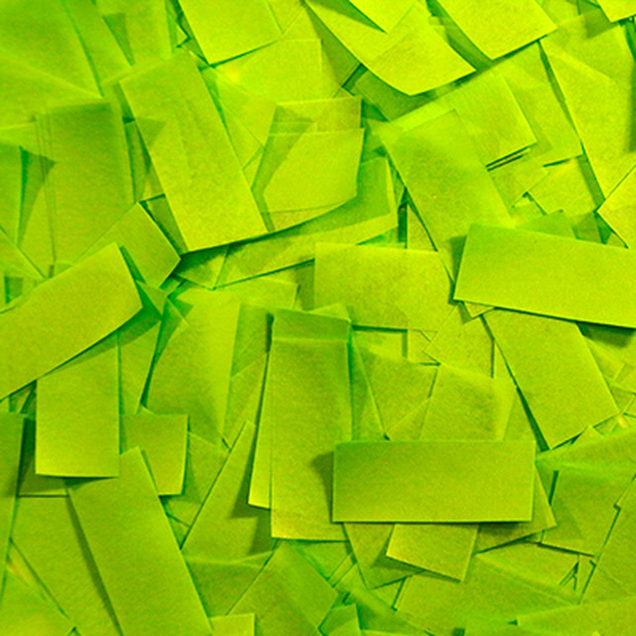 Ultimate Confetti Light Green Tissue Confetti-Biodegrabable-for Parties-Sporting Events-Parties-Easter-Parades-Productions-Baby Showers!