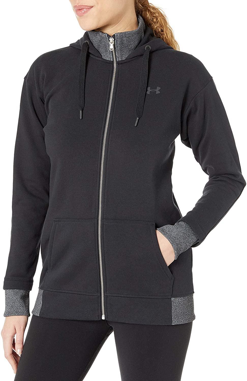 Under Armour womens Threadborne Fleece Full Zip Hoodie