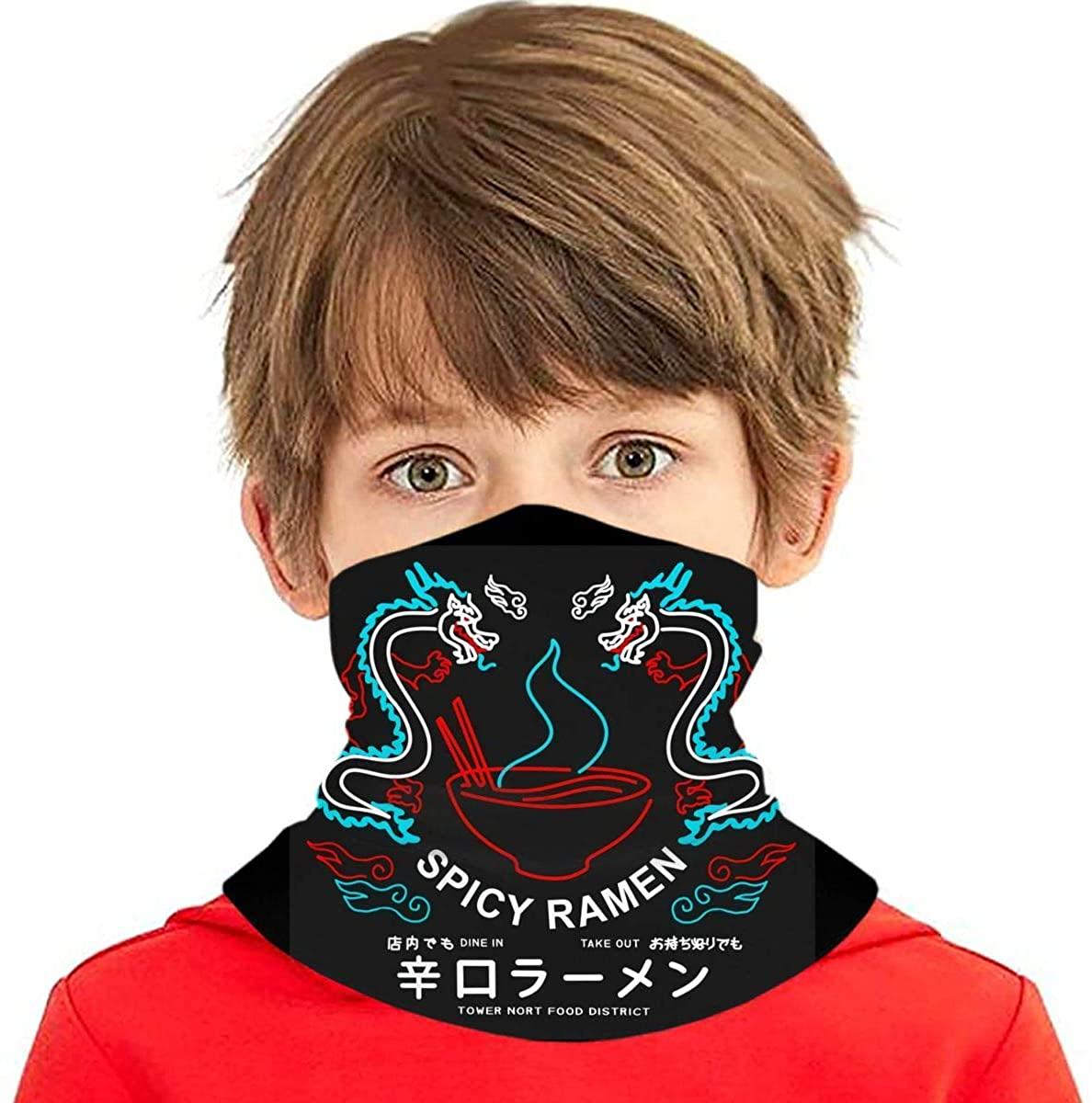 Popular Game Kids Neck Gaiter Face Cover Boys Girls Bandanas Mouth Cloth Cover Balaclavs Tube Headbands