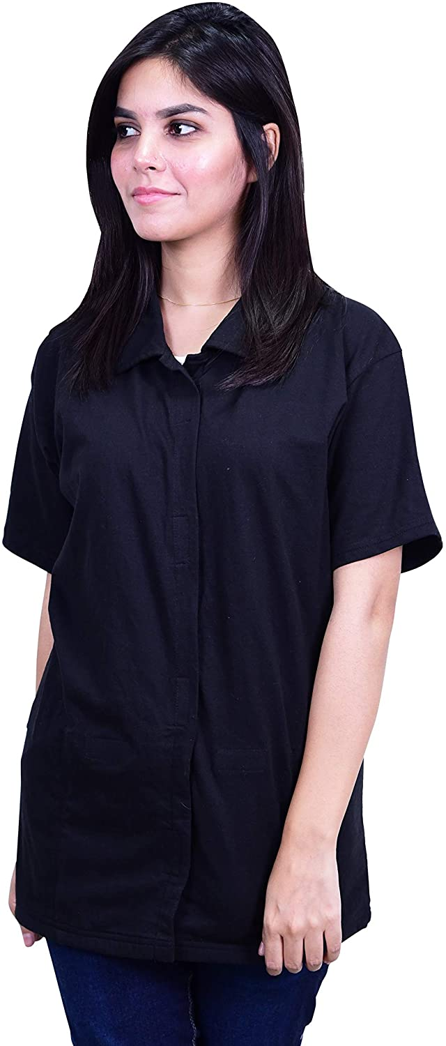 Post Op Easy Open Mastectomy Recovery Top with Pockets & Fasteners for Drains