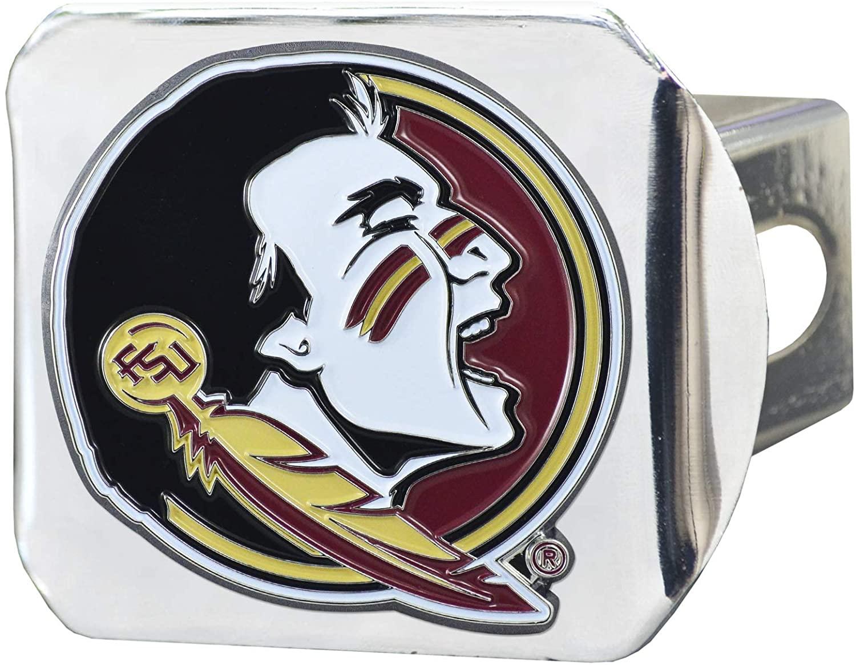 Florida State Seminoles 3D Color Emblem Chrome Hitch Cover