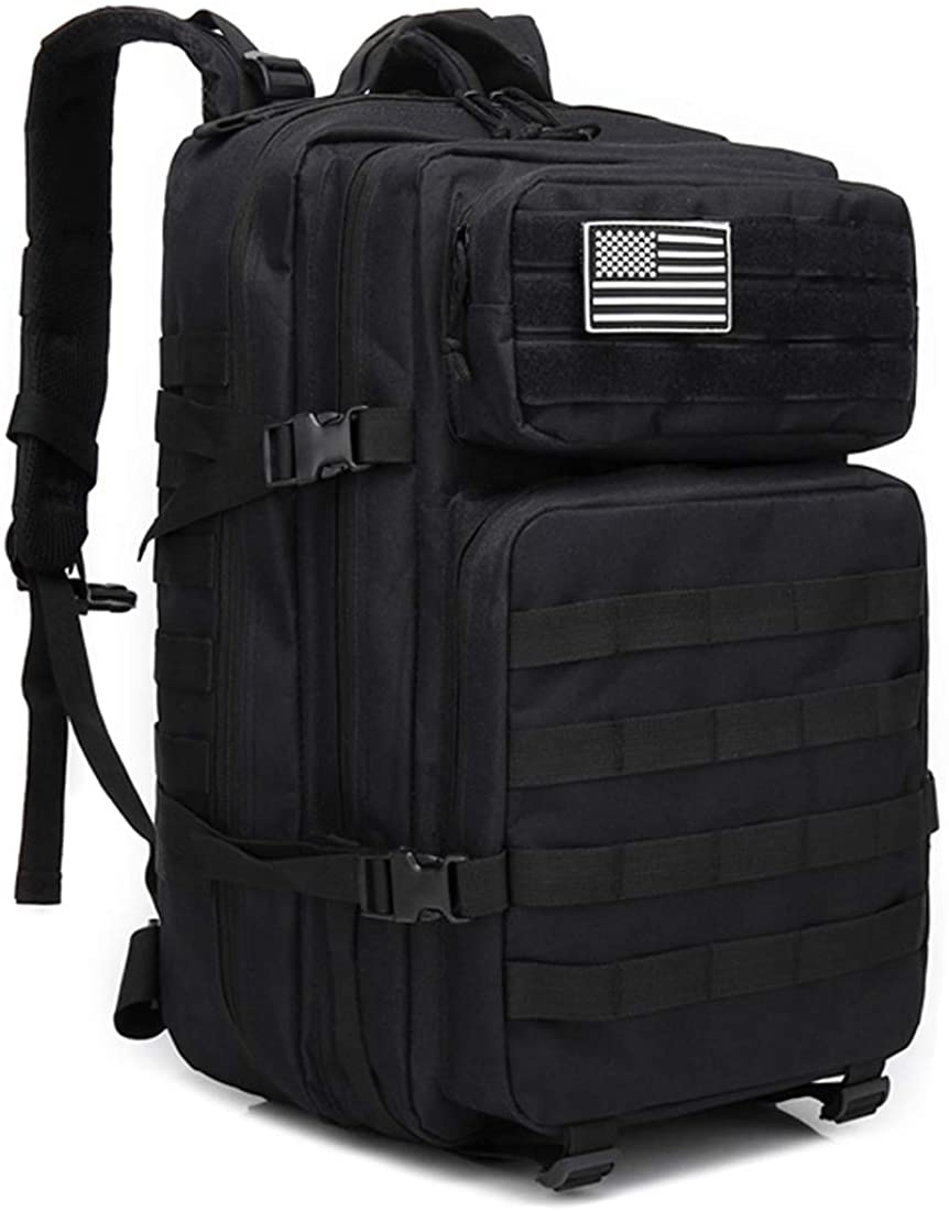 Military Tactical Backpack Large Army 3 Day Assault Pack Molle Bag Backpack, 42L