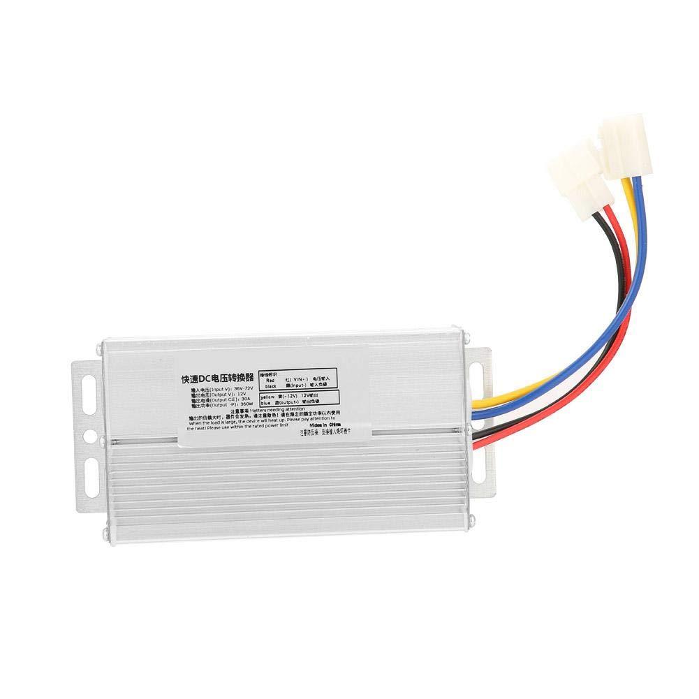 DC Converter, 36-72V to 12V DC Converter 30A 360W Voltage Converter Voltage Transformer 12V Out Put Voltage Converter