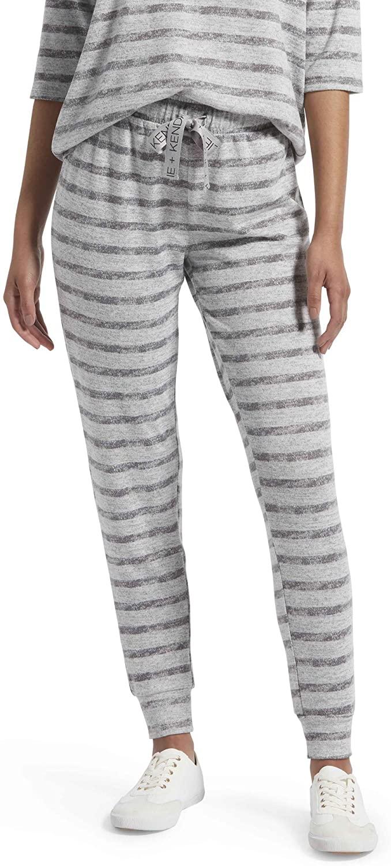 Kendall + Kylie Women's Striped Sleepwear Pajama Jogger