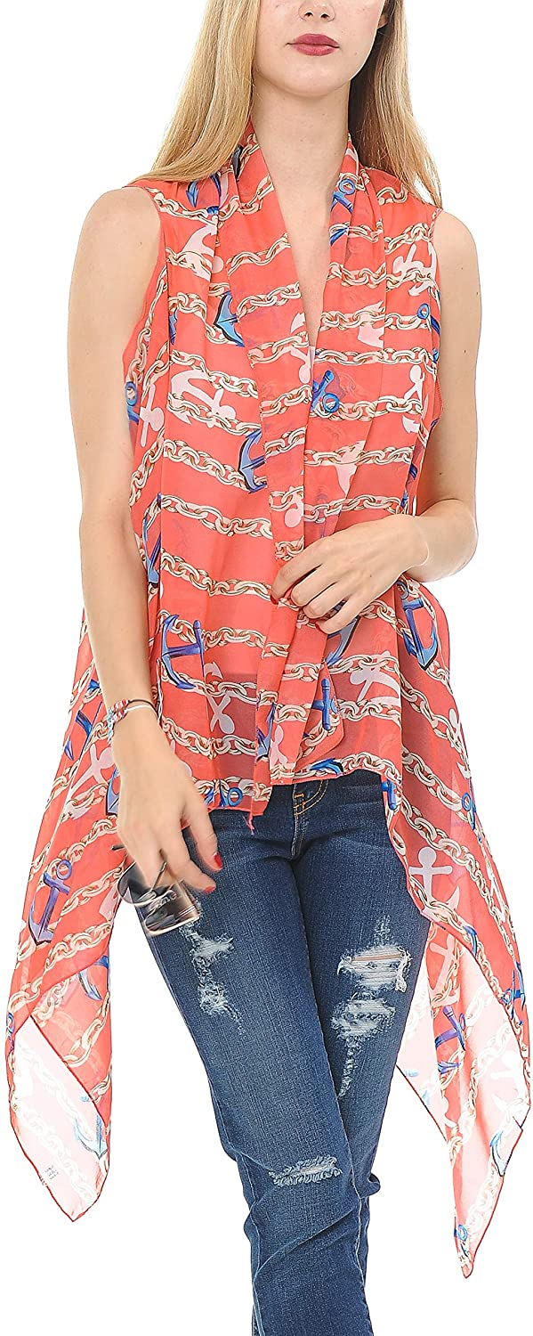 Fall Special Open-Front Boho Sleeveless Tunic Scarf Vests for Women (Assorted Colors)