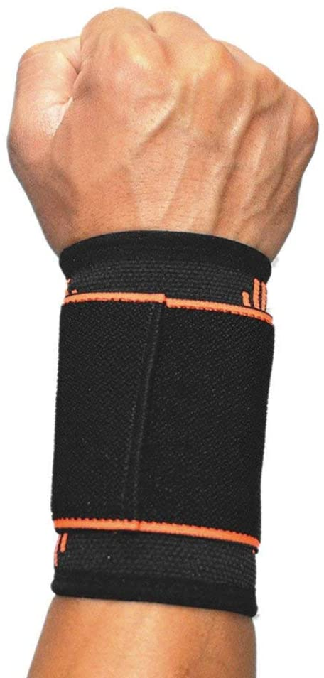 SOFIT Wrist Compression Strap and Support, Adjustable Wrist Support Brace, Men Women Wrist Compression Wrap for Weightlifting Working Out Sport Tendonitis and Arthritis Pain Relief