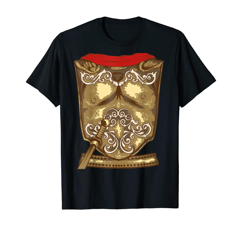 Cool Gladiator Halloween Combat Costume Shirt Fighter Gift