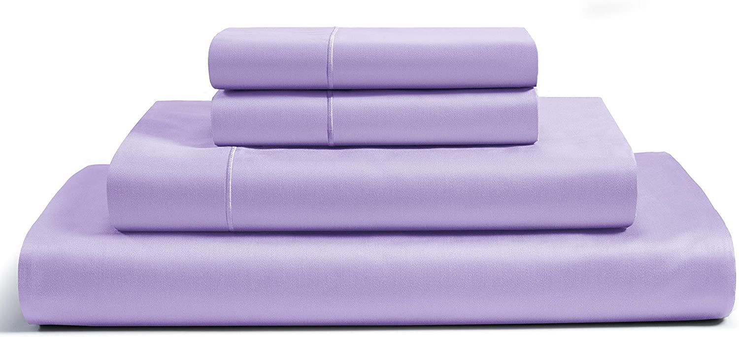 CHATEAU HOME COLLECTION 100% Egyptian Cotton 800 Thread Count 4 Piece Sheet Set 16 inch Deep Pocket (fit Upto 18