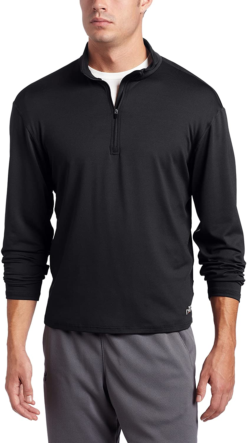 Hot Chillys Men's Chamois Zip-T Base Layer Top