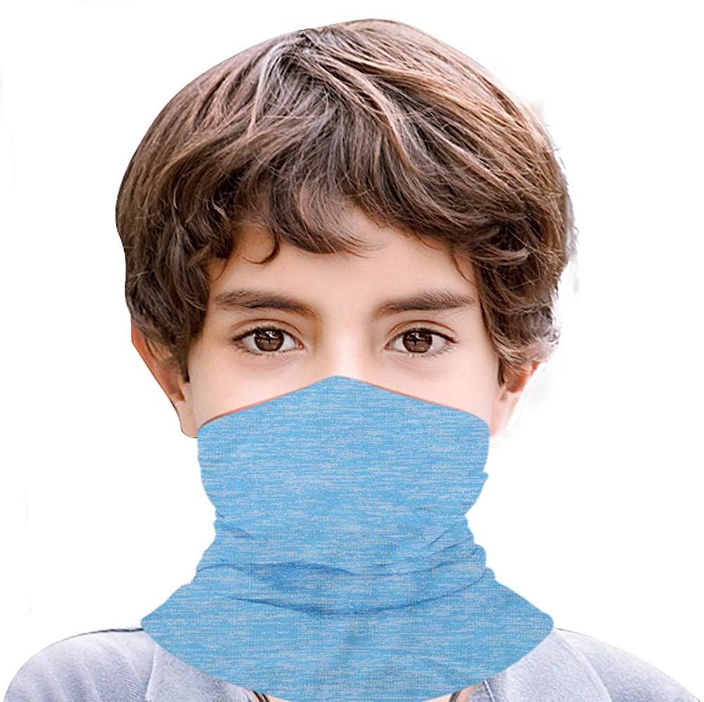 Boys Girls Balaclava Neck Gaiter Kids Face Mask Scarf Magical Multi Funtion