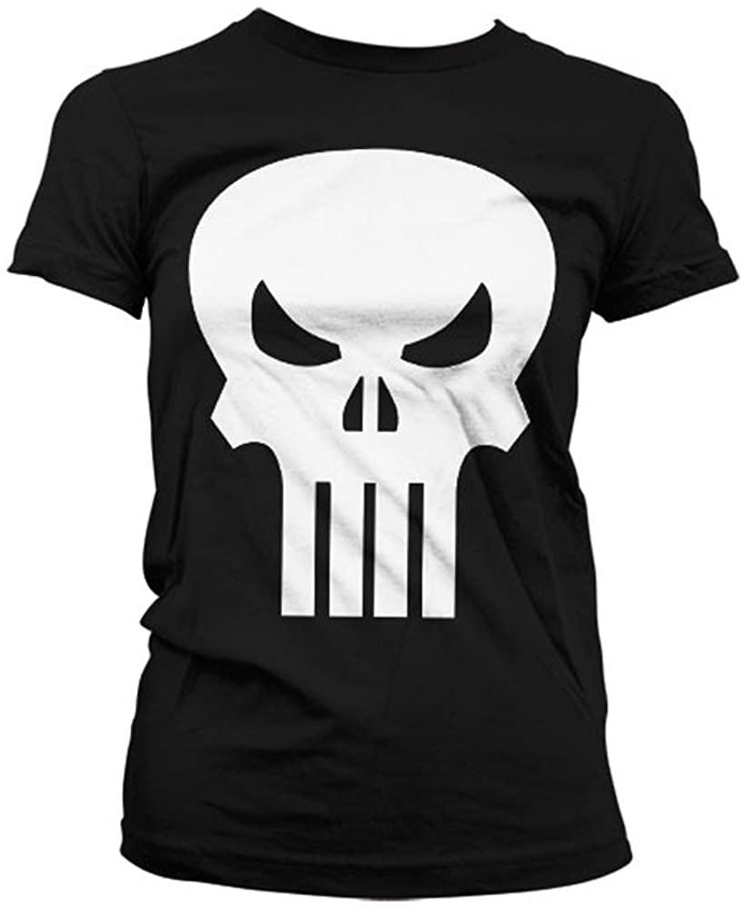 Marvel Officially Licensed Merchandise The Punisher Skull Women T-Shirt