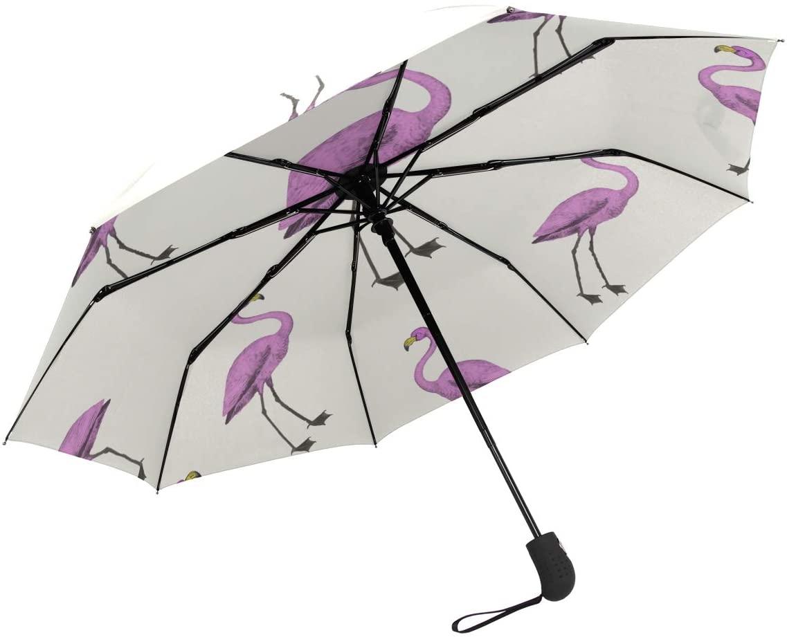 SUSINO Compact Travel Umbrella Automatic Open Close Windproof Pattern Graphic Portable Umbrellas for Womens Mens