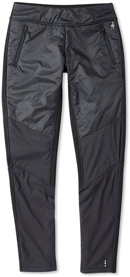 Smartwool Women's Smartloft-X 60 Pant - Merino Wool Insulated Performance Bottoms Black Large