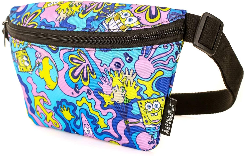 FYDELITY- NICK Nickelodeon 90's TV Character Bags   SpongeBob SquarePants, TMNT