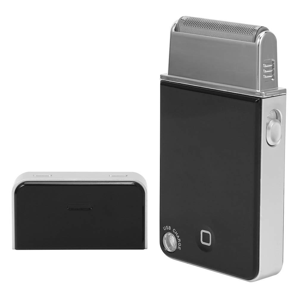 Electric Shaver, Portable USB Rechargeable Wet/Dry Shaver, Moustache Shaving Device for Men