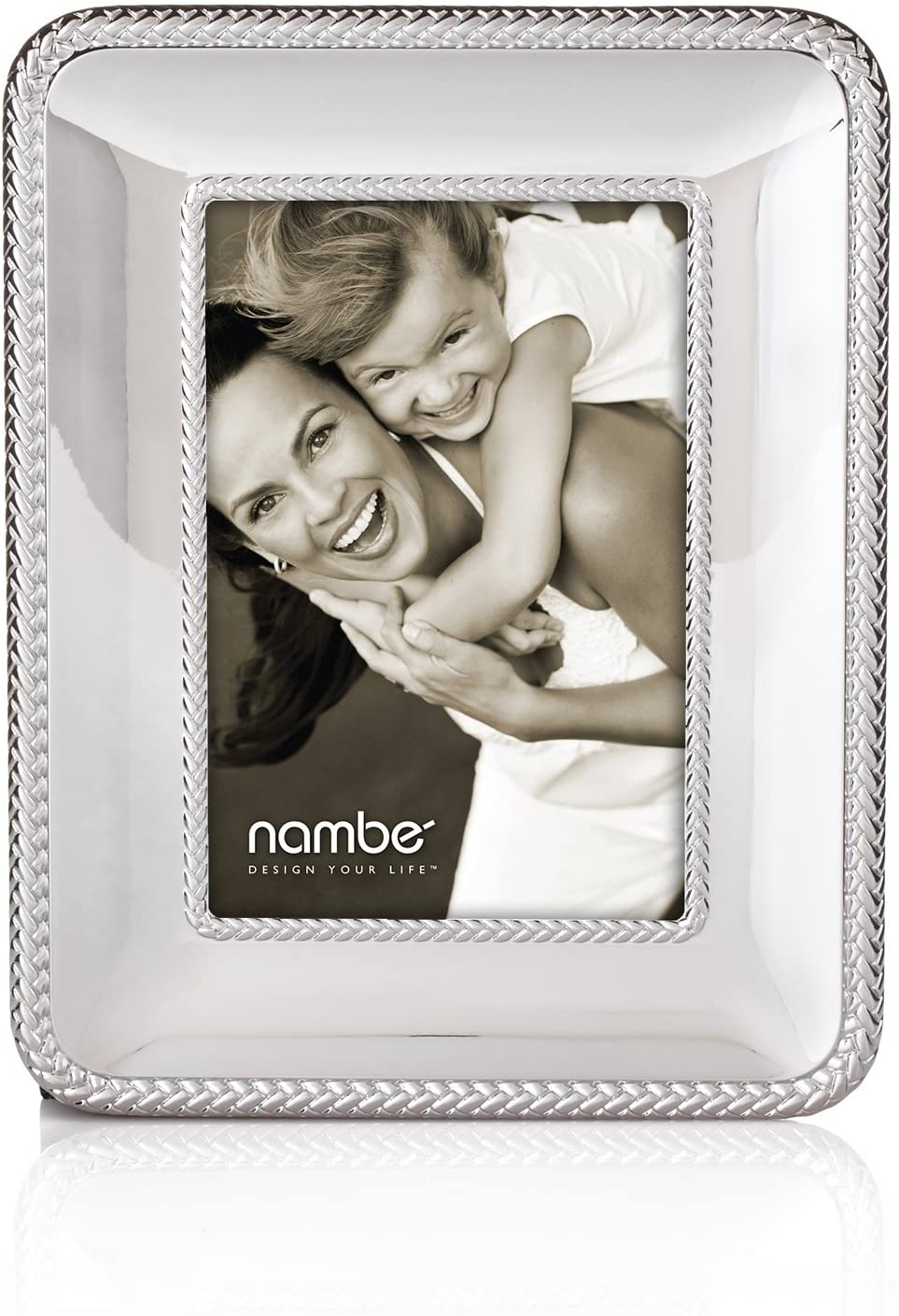 Nambe Braid Picture Frame, 4