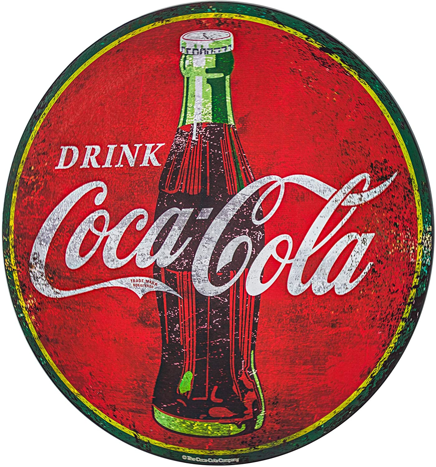 Officially Licensed Drink Coca Cola Metal Sign Wall Decor for Bar, Garage or Man Cave (40