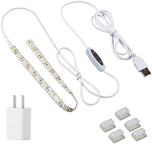 VIMLITE Sewing Machine LED Light 11.8inch, Strip Lighting kit with Physical Button Dimmer,Waterproof,Cold White 6000K with Flexible 3M Adhesive Tape, Fits All Sewing Machines