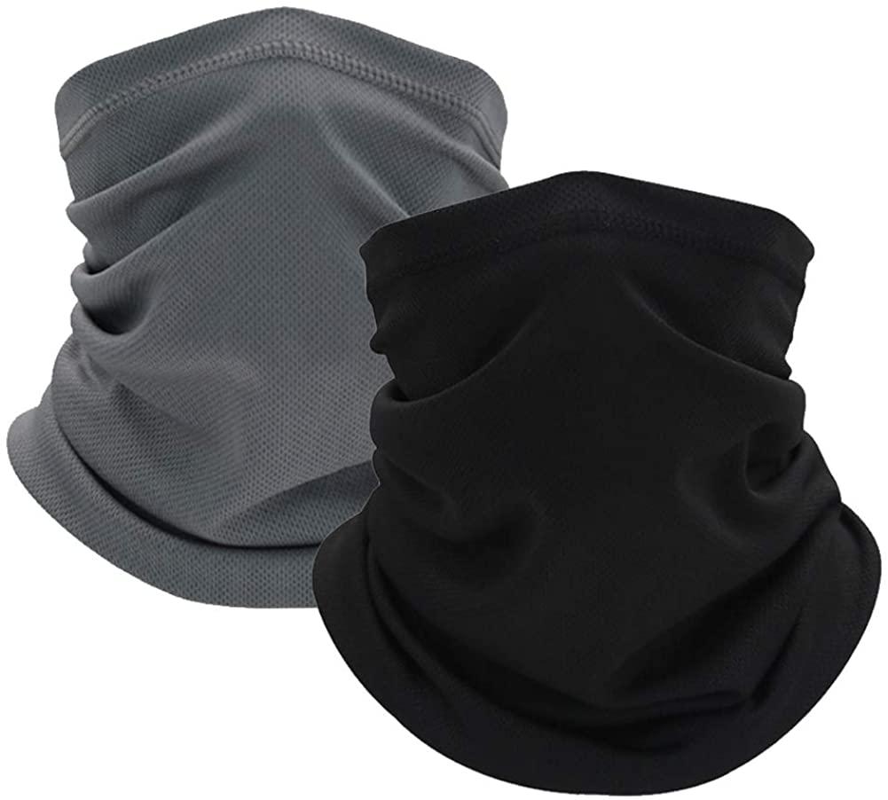 Summer Cooling Neck Gaiter Sports Bandana Scarf Face Cover Headband