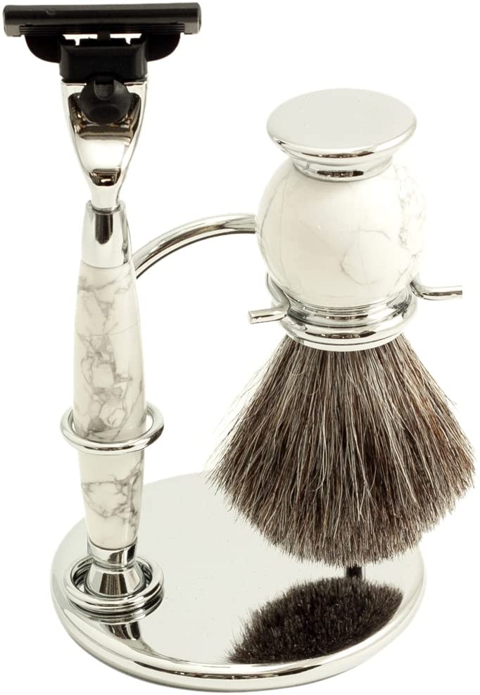 Pure Badger Shave Set