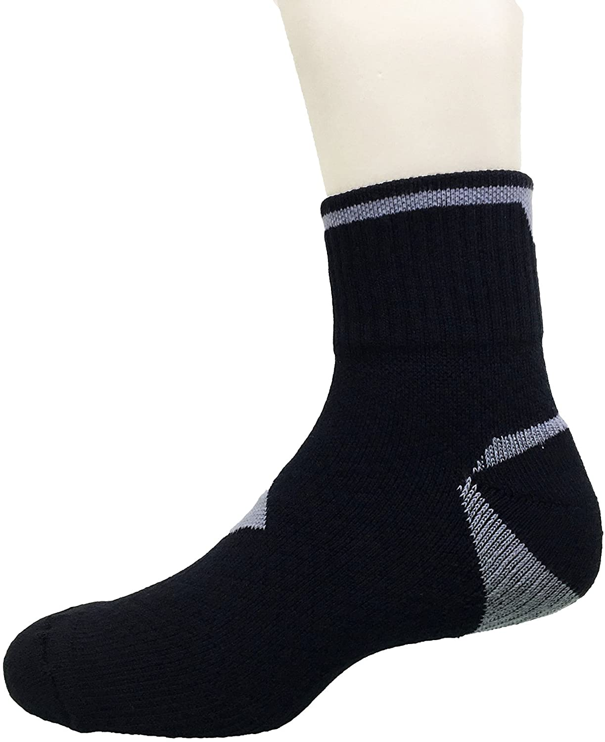 Kuan Yang Bamboo Charcoal Sports Ankle Functional Socks 0101