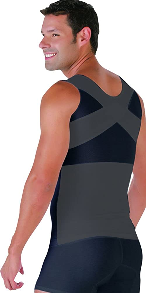 ARANZA Mens Powernet Compression Muscle Tank Shapewear Fajas Colombianas