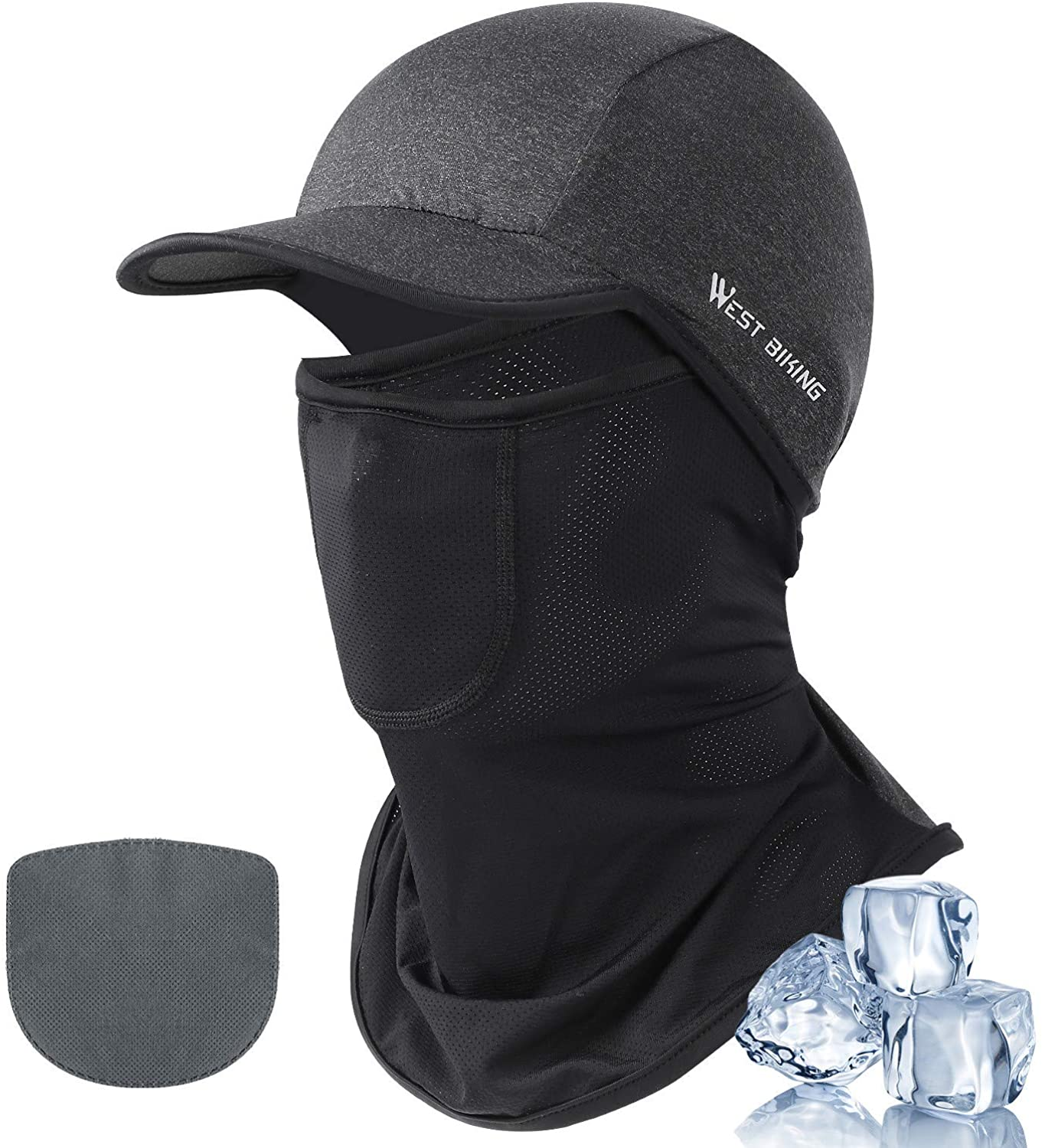 UV Face Mask Balaclava Dust Sun Protection Face Cover Brethable Cooling