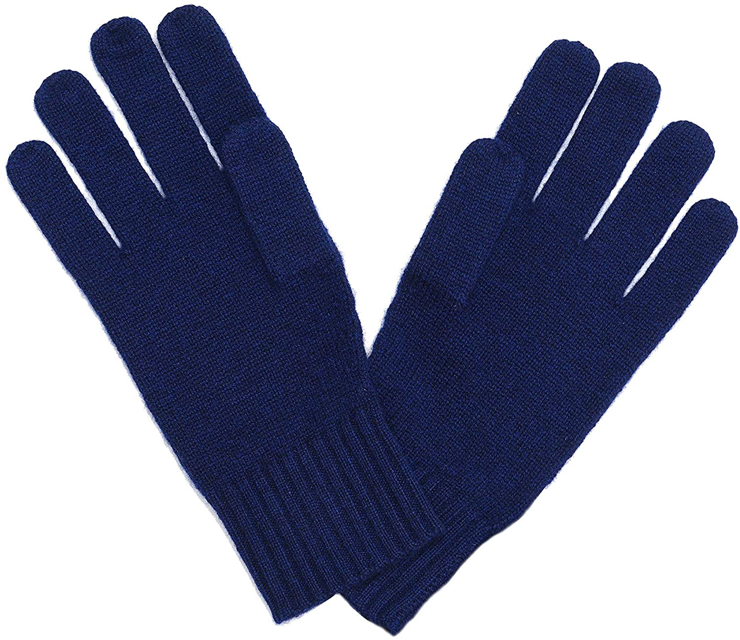 State Cashmere Classic Jersey Knit Gloves in 100% Pure Cashmere with Ribbed Cuffs • Ultimate Protection