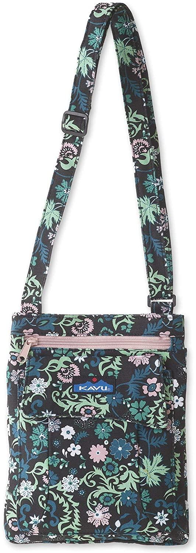 KAVU Keeper Semi Padded Sling Cotton Canvas Crossbody Bag