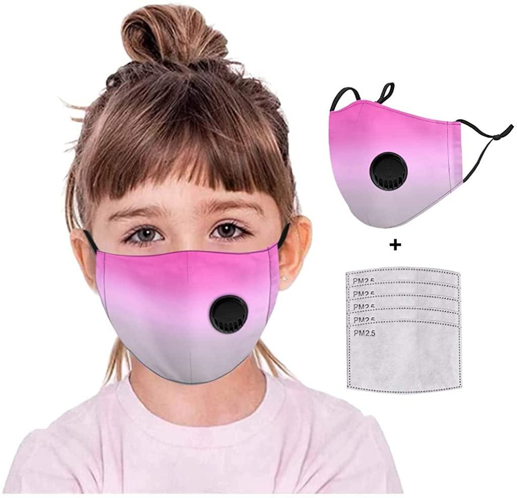 Face_Mask Children Kids Adjustable Reusable Breathable Safe Protection Cotton