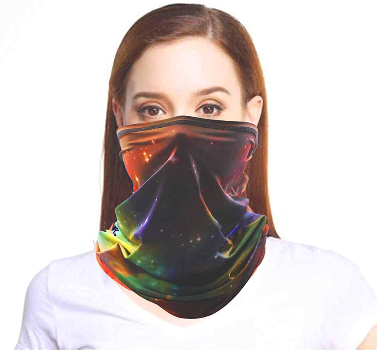 Summer Cooling Face Mask Reusable Neck Face Mask Sun UV Dust Protection Breathable Face for Outdoor Sport Gaiter Face Mask