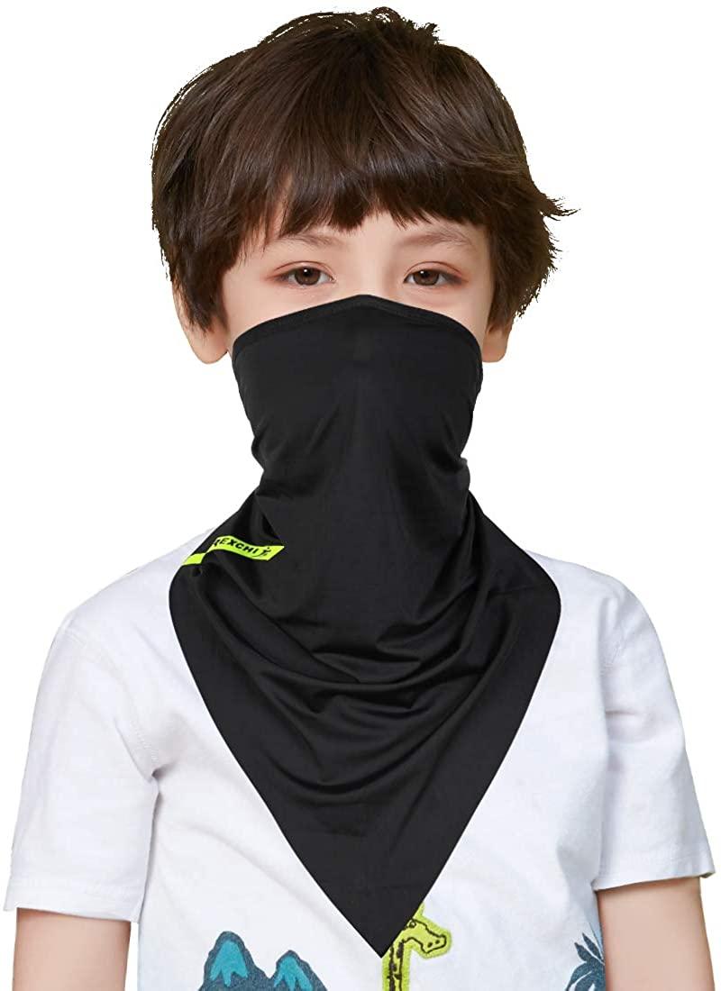 12 in 1 Kids Scarf Balaclava Multifunctional Neck Gaiter Headwear Headbands