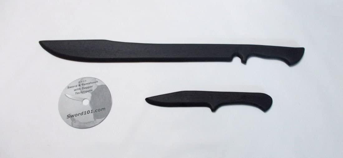 Multi-Range Combat Science (M.R.C.S) Training Commando Practice Sword Tactical Polypropylene Tanto Dagger Knife Instruction Techniques DVD