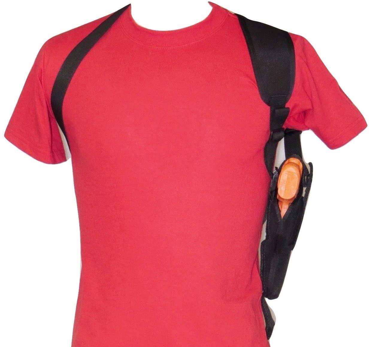Federal Vertical Shoulder Holster for Glock 17,20,21,22,31