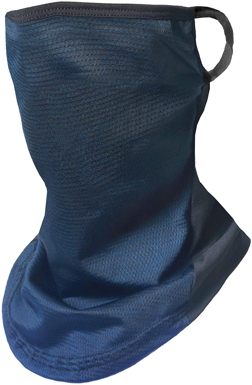 Face Cover Scarf Ear Loops Bandana Men Neck Gaiter Balaclava Headwear Unisex