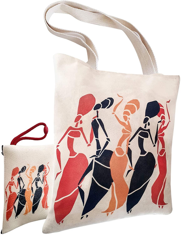 Lorisan Tote Bag for Women, Cute Large Crossbody Totes With Zipper