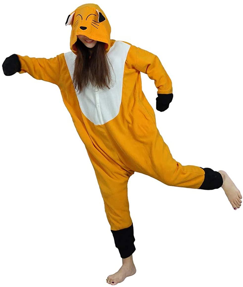 Novelcos Animal Pajamas Unisex Adult Cosplay Fox Costumes