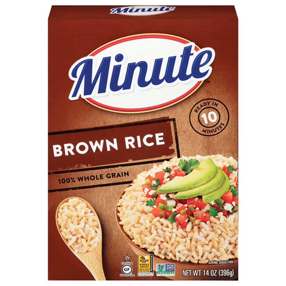 Minute Instant Brown Rice, 14 oz