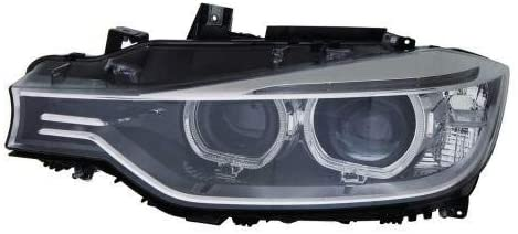 Go-Parts - for 2012 - 2015 BMW 328i Front Headlight Assembly Housing / Lens / Cover - Left (Driver) Side - (F30 Body Code; Sedan) 63 11 7 338 705 BM2502181 Replacement 2013 2014