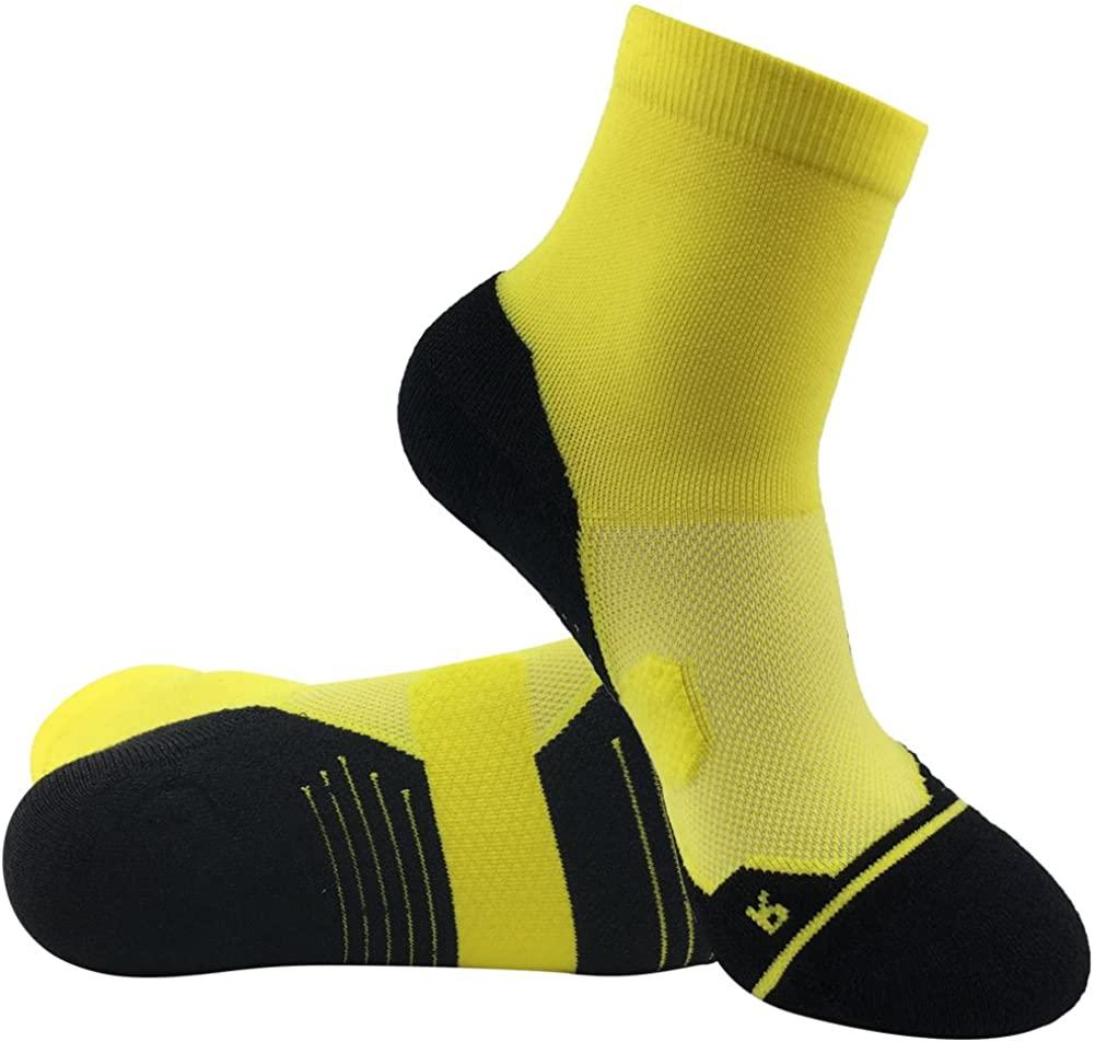 Men's Tennis Socks, HUSO Performance Sports Ankle Compression Socks 1,2,3 Pairs